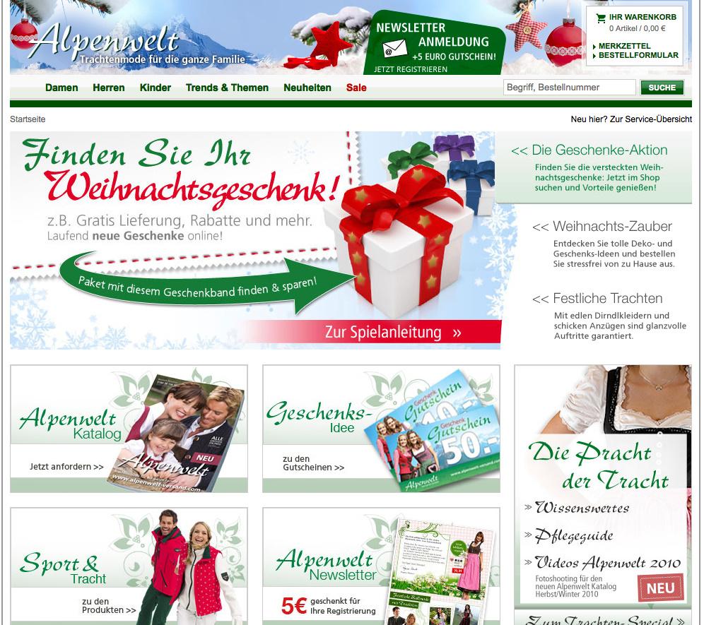 Alpenwelt Weihnachtsrabatt